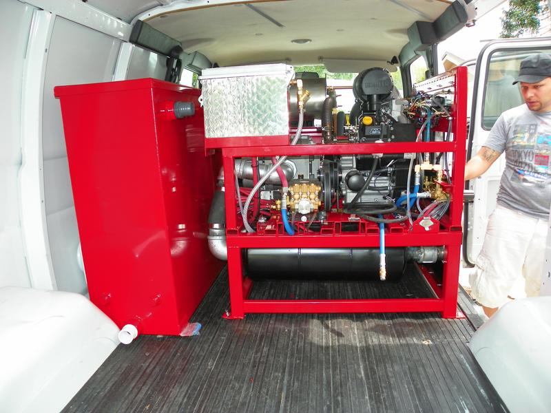 Truck Mount Carpet Cleaning Machines