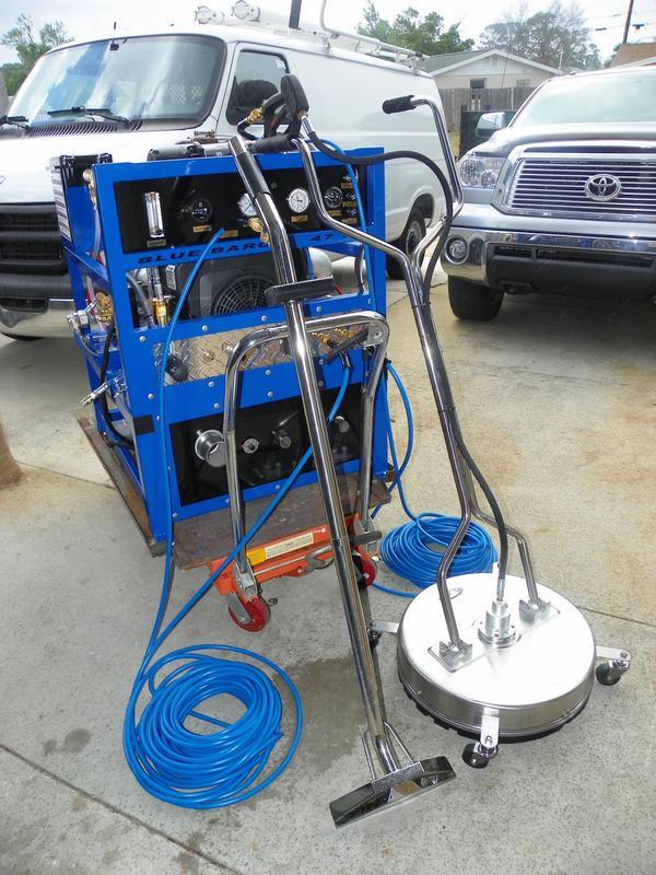 Blue Baron Model 45 Se Truck Mount Carpet Amp Tile Cleaning
